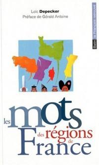 Les mots des régions de France