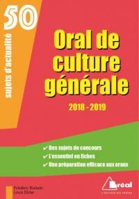 Oral de culture générale : 50 sujets d'actualité