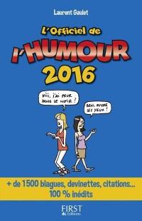 Officiel de l'humour 2016