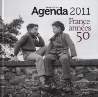 Agenda de la France années 50 - 2011