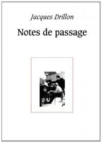 Notes de  passage