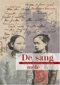 De sang mêlé : Chronique du métissage en Indochine