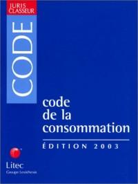 Code de la consommation 2003 (ancienne édition)
