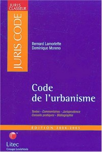 Code de l'urbanisme 2004-2005