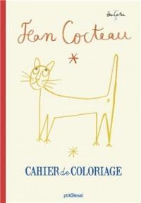 Cahier de coloriage Jean Cocteau