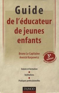 Guide de l'éducateur de jeunes enfants