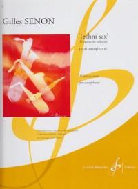 Techni-Sax' - 32 Textes de Velocite