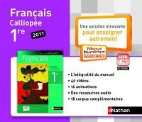 Cle Usb Français 1e Livre Unique Mne Tna
