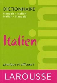 Mini-dictionnaire français-italien et italien-français
