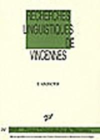 Recherches linguistiques de Vincennes, N° 34 : L'adjectif