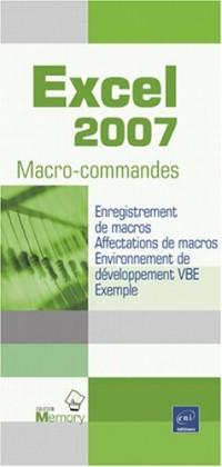 Excel 2007 - Macro-commandes