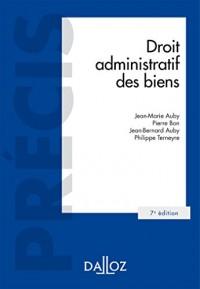 Droit administratif des biens - 7e éd.