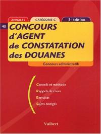 Concours d'agent de constatation des douanes