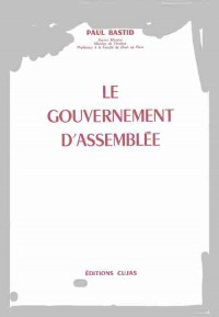 Le gouvernement d'assemblée