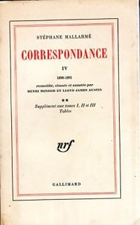 Correspondance : Tome 4
