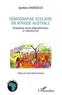 Démographie scolaire en Afrique australe