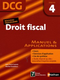 Droit fiscal Epreuve 4 - DCG - Manuel et applications