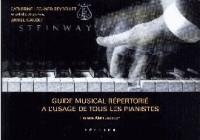 Guide musical répertorié : A l'usage de tous les pianistes