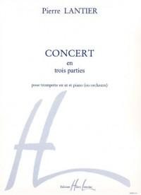 Concert en 3 parties