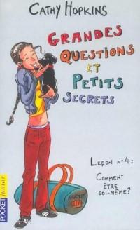 Grandes questions et petits secrets, numéro 19