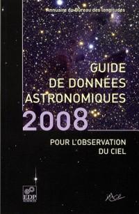 Guide des données astronomiques pour l'observation du ciel