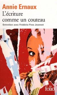 L'Ecriture Comme un Couteau (Entretien avec Frédéric-Yves Jeann