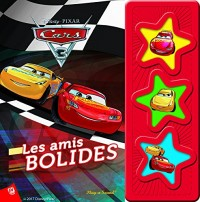 Cars 3 : Livre sonore 3 boutons