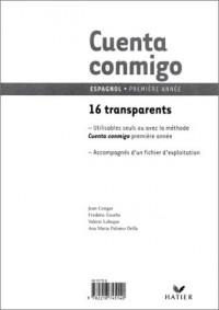 Cuenta Conmigo : Espagnol, 4e LV2, 2de LV3 (Transparents, livret pédagogique)