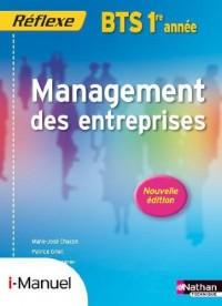 Management des Entreprises Bts 1 (Pochette Reflexe) Licence Numerique Eleve  I-Manuel+Ouvrage Papier