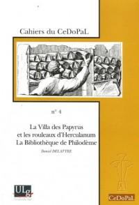 La Villa des Papyrus et les rouleaux d'Herculanum, La Bibliothèque de Philodème