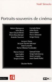 Portraits-souvenirs de cinéma