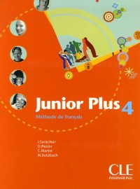 Junior plus 4 : Méthode de français
