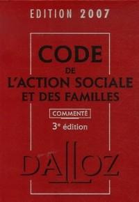 Code de l'action sociale et des familles 2007