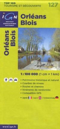 Orléans Blois : 1/100000