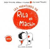 Les aventures de Rita et Machin -  1 livre, 1 DVD - De 4 à 7 ans