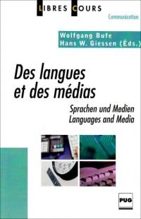 Des langues et des médias
