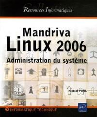Mandriva Linux 2006 : Administration du système