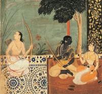 Ramayana de Valmiki Illustre par les Min