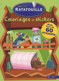 Ratatouille : Coloriages et stickers