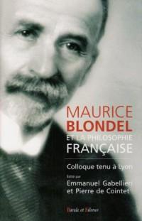 Blondel et la philosophie française