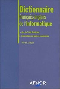Dictionnaire français-anglais de l'informatique