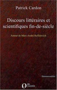 Discours littéraires et scientifiques fin-de-siècle
