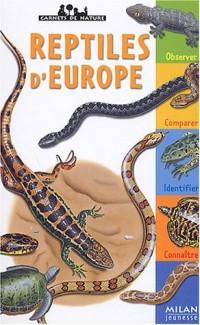 Les reptiles d'Europe