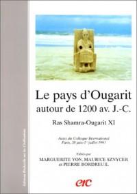 Le pays d'Ougarit autour de 1200 av. J.-C: Histoire et archéologie : actes du colloque international, Paris, 28 juin-1er juillet 1993