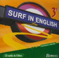 Surf in english 3e CD audio eleve