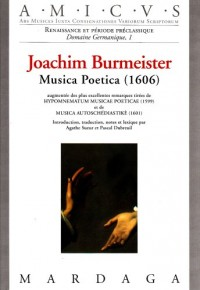 Joachim Burmeister : Musica poetica (1606)