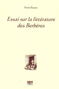 Essai sur la littérature des Berbères