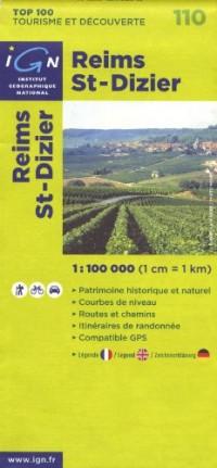 Reims St-Dizier : 1/100 000