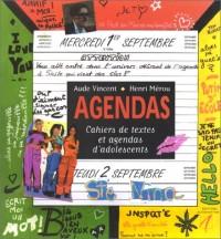 Agendas. cahiers de textes et agendas d'adolescents