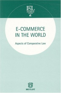 E-commerce in the world : Aspects of Comparative Law